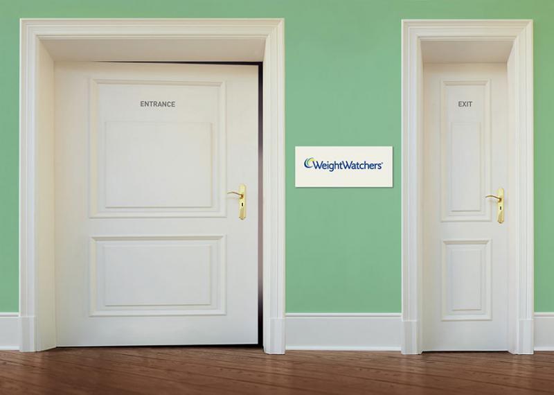 Kwikku, Pintu untuk orang gemuk lebih lebar iklan pelangsing yang kreatif