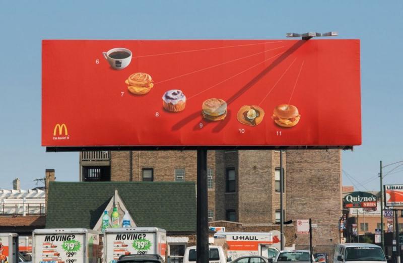 Kwikku, Kamu bisa makan makanan yang cocok sesuai jam McDonalds ini