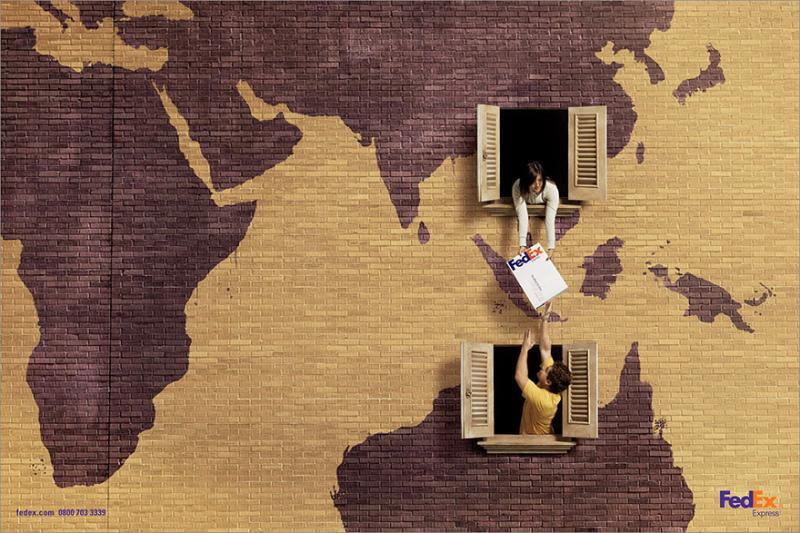 Kwikku, Pengiriman barang antar negara jadi lebih mudah iklan FedEx