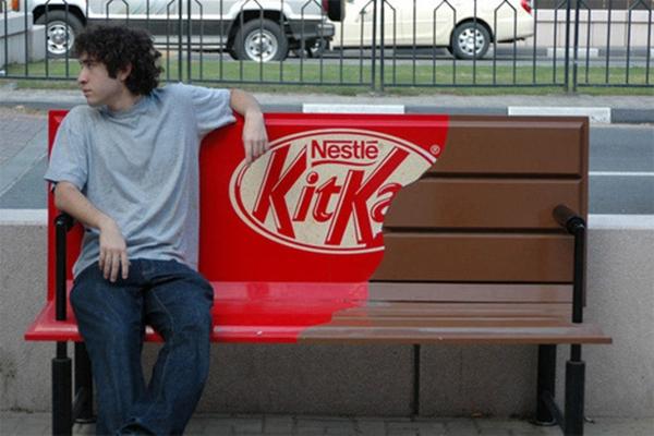 Kwikku, Iklan Kit Kat