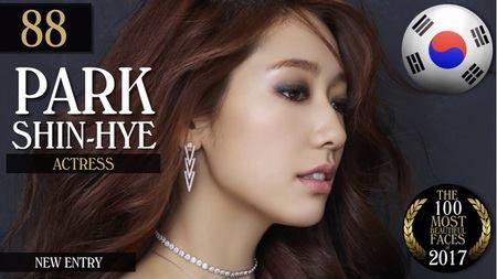 Kwikku, Artis cantik Park Shin Hye menduduki peringkat  ini merupakan kali pertama Shin Hye masuk dalam daftar TC Candler