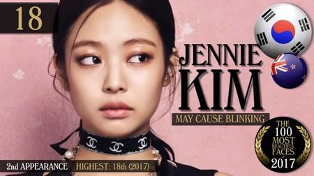 Kwikku, Berikutnya ada Jennie Kim dari BLACKPINK yang menempati posisi ke
