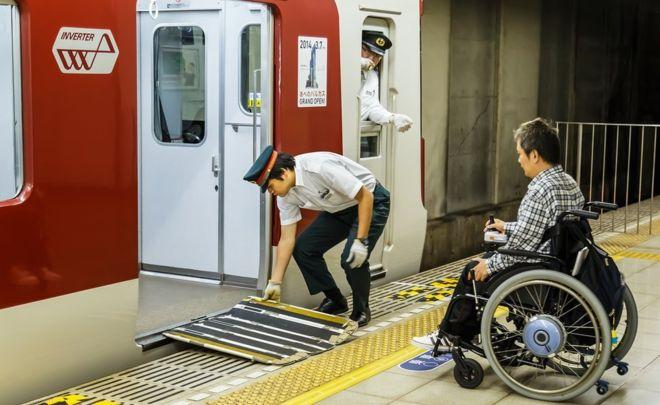 Kwikku, Jepang sendiri adalah negara yang sangat memerhatikan fasilitas yang ramah bagi penyandang disabilitas