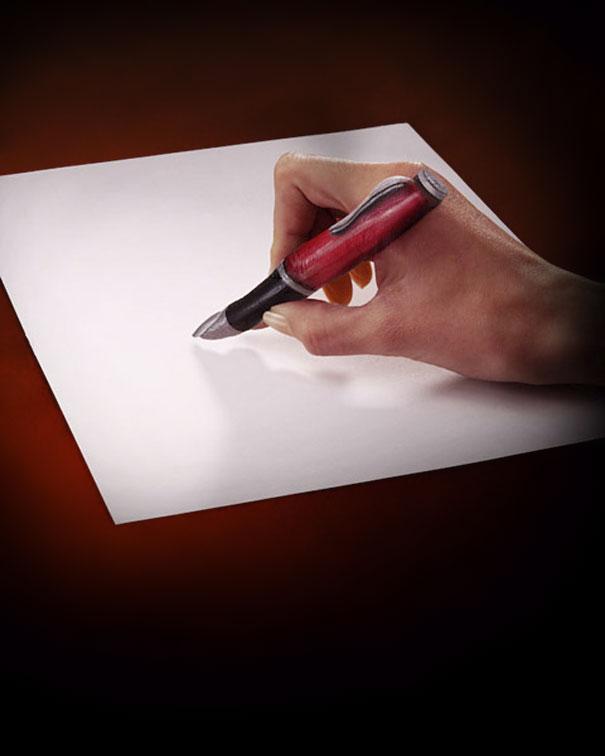 Kwikku, Tidak ada pena itu adalah jari telunjuk
