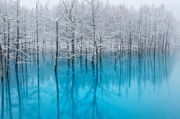 Kwikku, Danau Biru Hokkaido Jepang