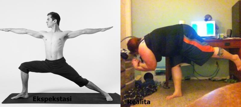 Kwikku, Yoga juga bisa untuk menurunkan berat badan