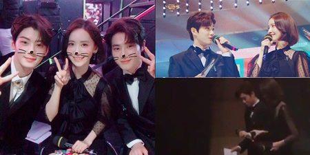 Kwikku, Yoona Suho dan ketambahan Cha Eunwoo Astro pernah menjadi MC diacara festival musik Gayo Daejun