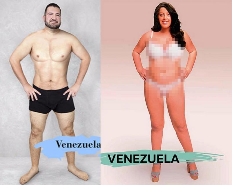 Kwikku, Di Venezuela pria tampang adalah yang memiliki otot ditubuhnya sedangkan wanita cantik memiliki rambut panjang hitam dan memiliki kulit yang cerah