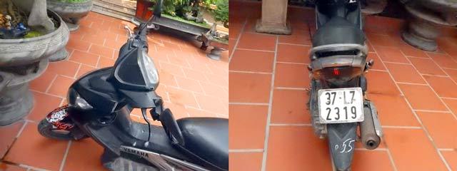 Kwikku, Plat kendaraan di Vietnam hanya ada dibagian belakang sedangkan dibagian depan nggak perlu terpasang