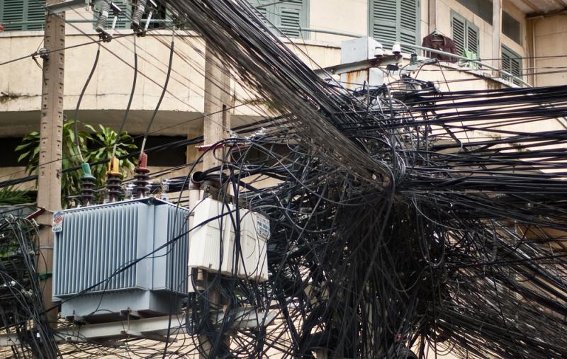 Kwikku, Ada juga kabel ruwet parah begini di Vietnam