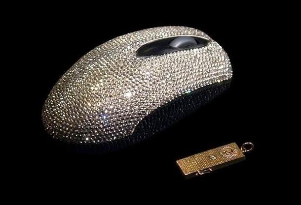 Kwikku, Mouse komputer tak biasa yang ditaburi kristal dengan harga Rp  juta saja