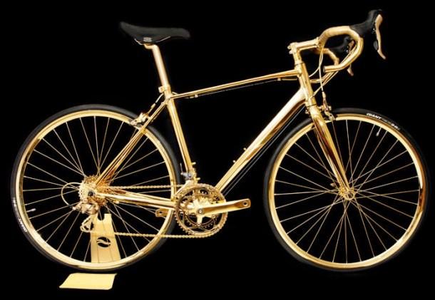 Kwikku, Ada sepeda dengan bahan emas murni  karat Rp  miliar siapa yang mau beli
