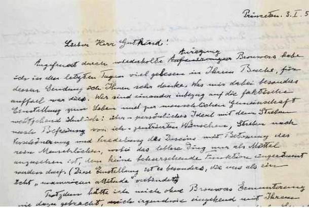 Kwikku, Surat dengan tulisan tangan asli Albert Einstein dengan harga Rp  miliar