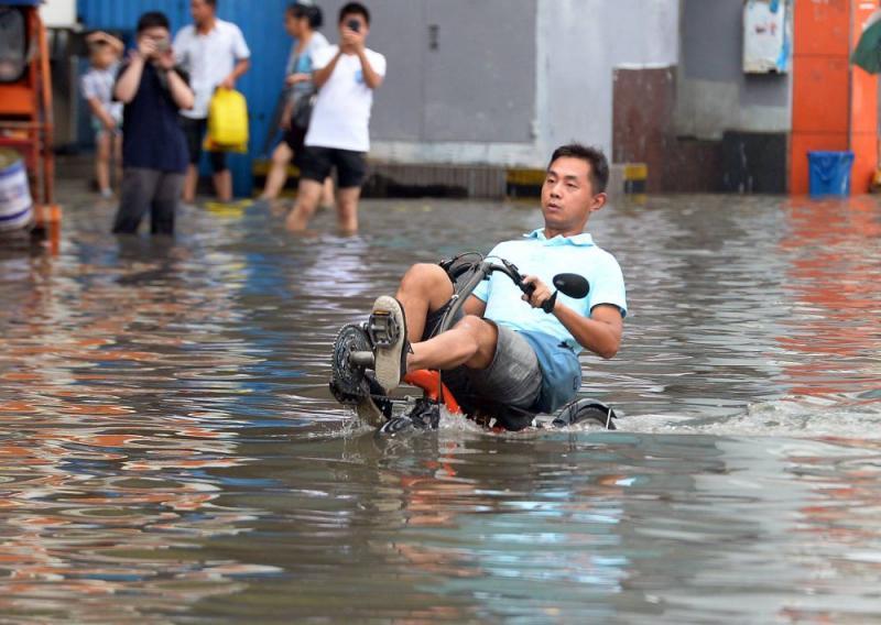 Kwikku, Buat kamu yang sering kebanjiran nggak ada salahnya punya sepeda begini