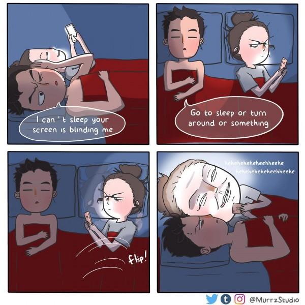 Kwikku, Nggak Cuma romantis kok di tempat tidur juga bisa saling mengerjai