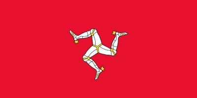 Kwikku, Sebenarnya kalau melihat lambang ini seperti salah satu brand minuman ya Well jangan salah gaes Ini adalah bendera Isle of Man yang bagian tengahnya terdapat triskelion berbentuk tiga kaki misterius yang masih ditebak banyak orang apa tujuan sebenarnya