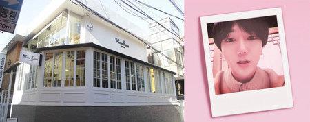 Kwikku, Yeesung Super Junior juga punya cafe gaes letaknya di  Hwayangdong Gwangjingu Seoul Korea Selatan Cafe tersebut bernama Mouse Rabbit dikenal memiliki suasana yang nyaman dan dessert yang lezat