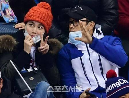 Kwikku, Selanjutnya ada pasangan suami istri Lee Min Jung dan Lee Byung Hun yang juga kedapatan berfoto bersama