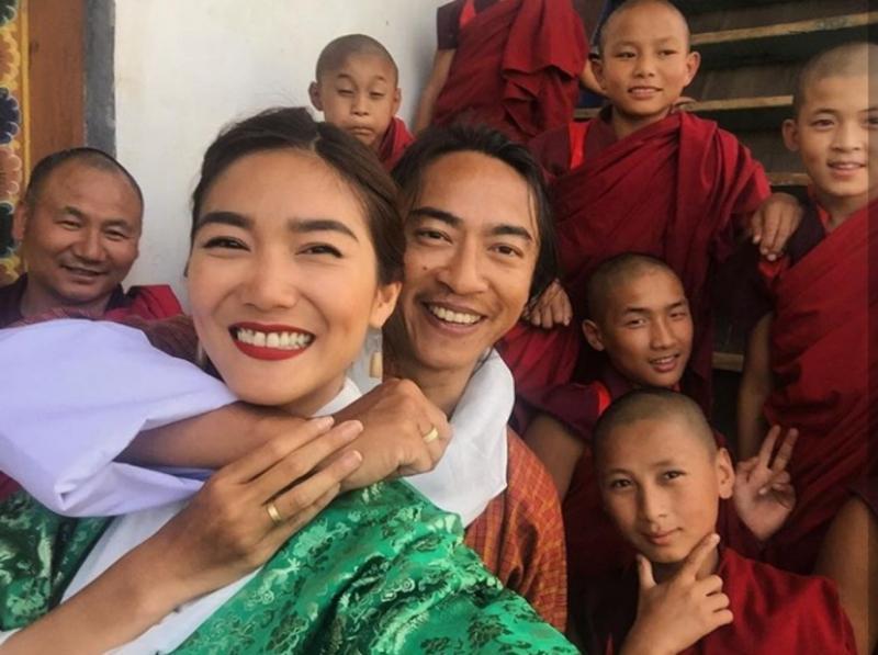 Kwikku, Bukannya mengadakan pesta mewah Domique Diyose dan Ivan Handoyo menggelar pernikahan sederhana pada tanggal  Oktober  lalu di Bhutan
