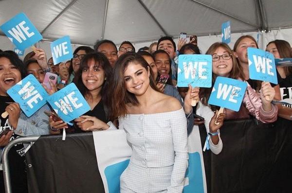 Kwikku, Peringkat ke ditempati oleh Selena Gomez dengan  juta pengikut