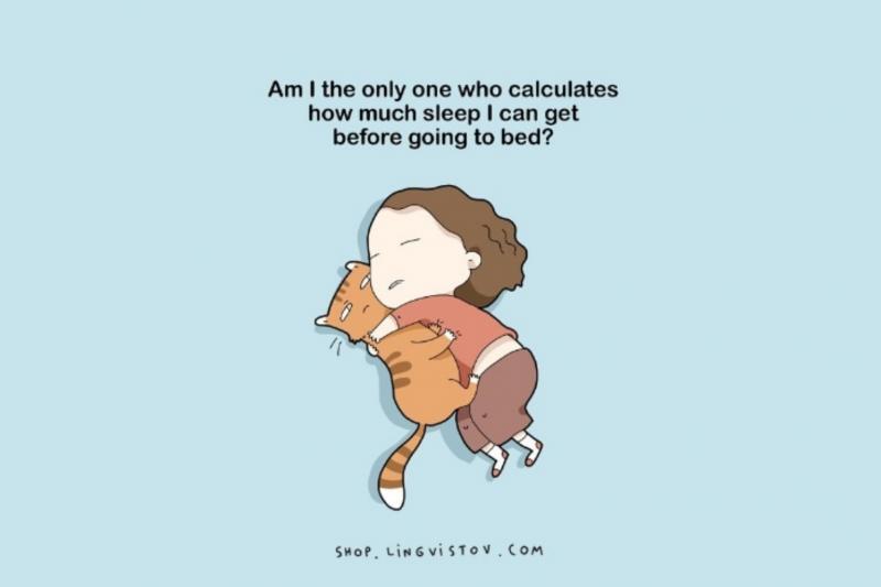 Kwikku, Bahkan mereka juga nggak peduli berapa jam waktu yang digunakannya untuk tidur selama nggak ada yang mengganggu ya