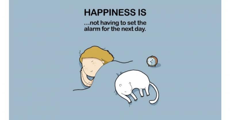 Kwikku, Kebahagian sederhana orang yang hobby tidur adalah nggak ada yang membangunkannya meskipun bunyi kecil sekalipun