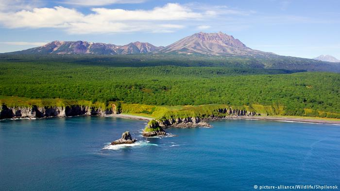 Kwikku, Selanjutnya diposisi ke ada Rusia dengan garis pantai yang mencapai  km gaes