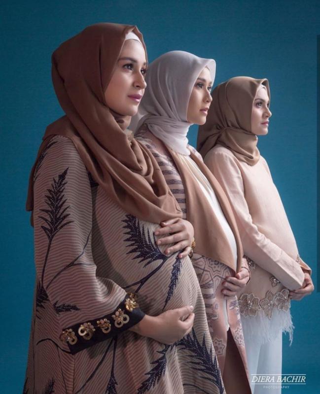 Kwikku, Penampilan Shireen Sungkar Zee Zee Shahab dan Zaskia Adya Mecca saat maternity shoot ini juga bisa kamu tiru untuk penampilan harian