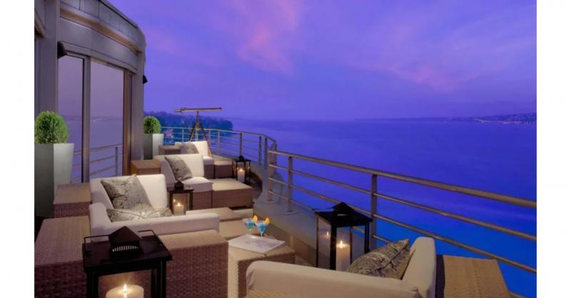 Kwikku, Royal Penthouse Suiteat President Wilson Hotel Jenewa