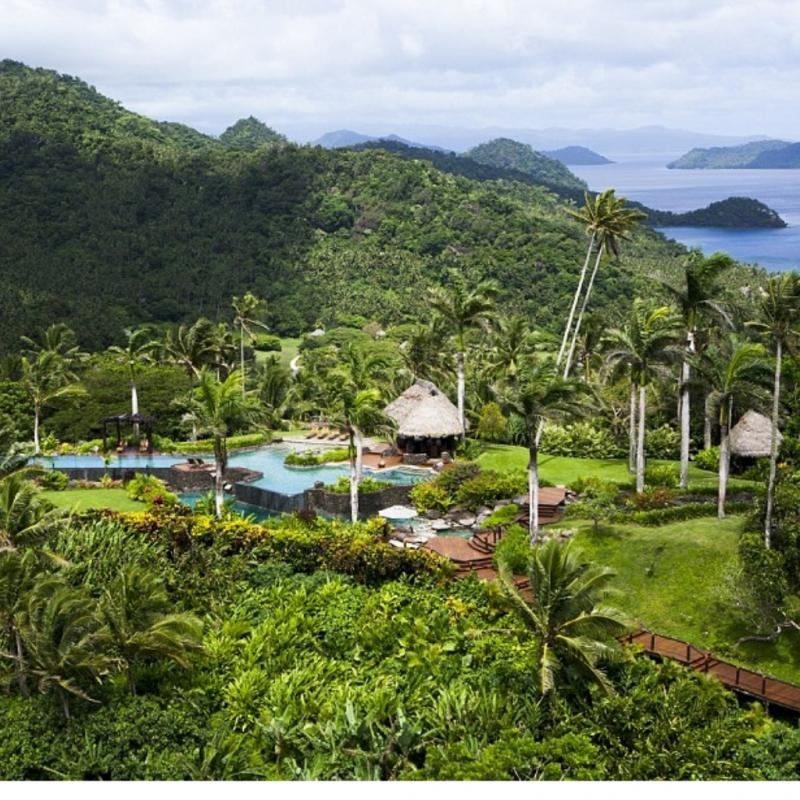 Kwikku, The Hilltop Villa Laucala Island Resort Fiji