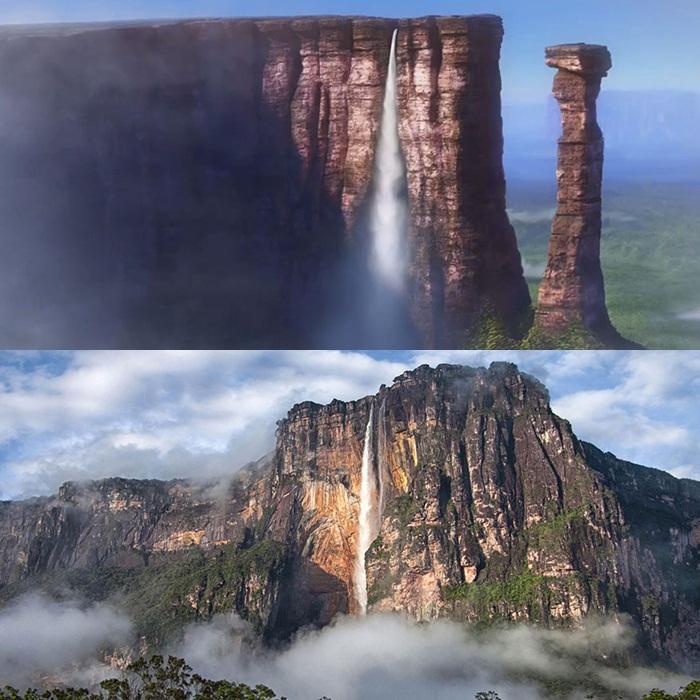 Kwikku, Kali ini pulau terpencil di film Tangled terinspirasi dari Pulau Montt Saintmichel Prancis