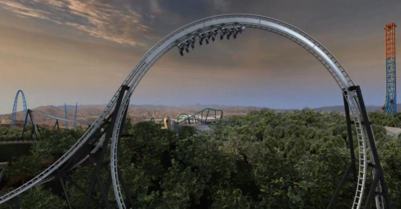 Kwikku, Full Throttle Six Flags Mountain Amerika Serikat