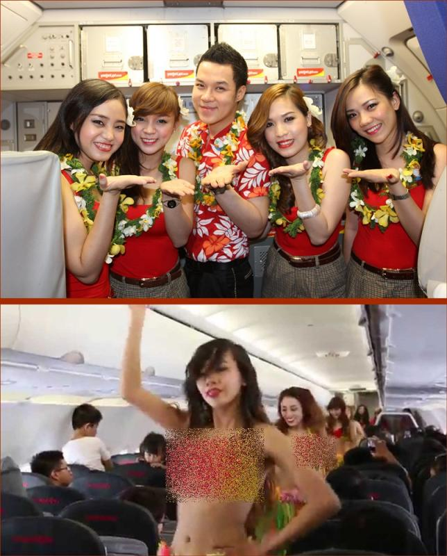 Kwikku, Vietjet sempat menuai kontoversi karena mengharuskan pramugarinya mengenakan bikini saat bekerja dengan alasan ingin memuaskan penumpangnya