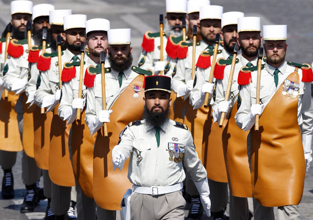 Kwikku, Pasukan French Foreign Legion ini merupakan pasukan khusus yang dimiliki oleh Negara Prancis
