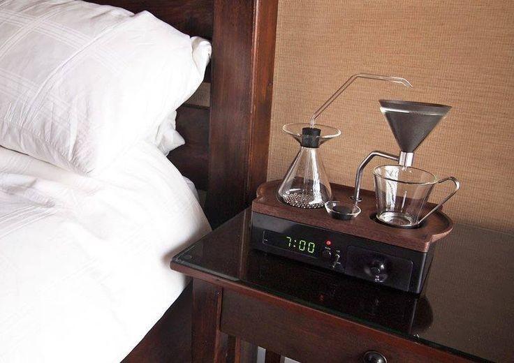 Kwikku, Mungkin ini adalah alarm yang paling bisa bikin moodbooster Saat alarm sudah menunjukkan waktunya jam ini akan otomatis memanaskan kopimu
