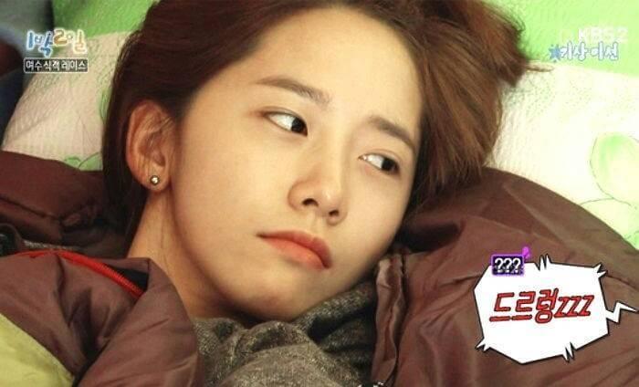 Kwikku, Percaya atau tidak Saat terekam kamera ini Yoona SNSD juga tidak mengenakan make up Wajahnya terlihat cantik dan bercahaya berkat perawatan rutin yang ia lakukan