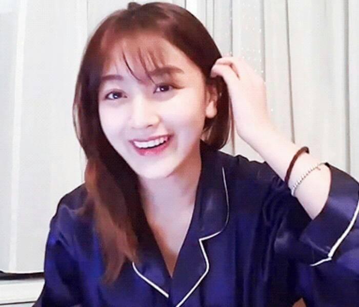Kwikku, Jihyo TWICE juga terlihat memesona meskipun tanpa make up yang ia pakai biasanya