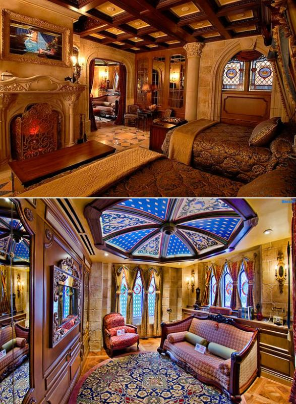 Kwikku, Hotel yang satu kamar ini didesain semirip mungkin dengan gambaran kamar Cinderella Tom Cruise pernah menginap di hotel ini bersama anaknya
