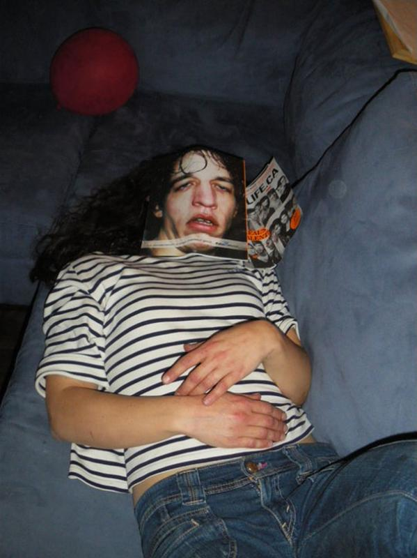 Kwikku, Jangan tidur disekitar temanmu kalau nggak mau dipermalukan seperti ini ya