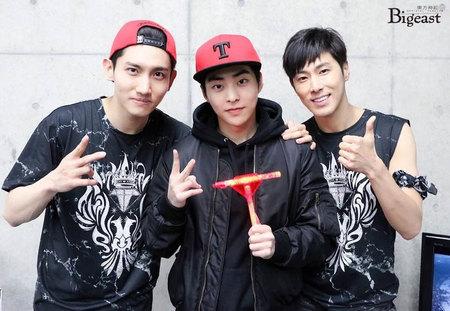 Kwikku, Xiumin EXO juga mengaku ngefans dengan TVXQ terutama Changmin Ia mengaku sempat mati gaya saat bertemu langsung dengan dengan TVXQ untuk pertama kalinya