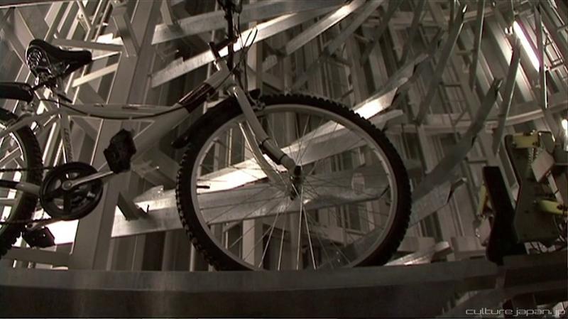 Kwikku, Well jangan kaget ya Sepedamu akan otomatis digerakkan oleh mesin untuk memasukki tempat parkir yang disediakan ini Keren banget kan