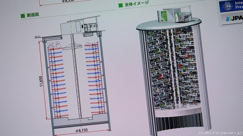Kwikku, Arsitektur tempat parkir canggih ini juga dibuat sedemikian rupa dan tahan gempa juga loh