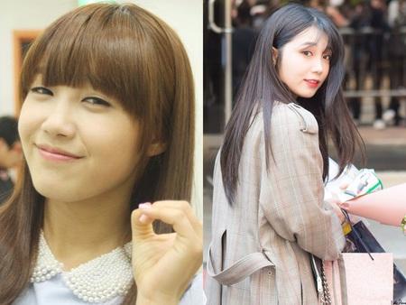 Kwikku, Penampilan Eunji Apink saat ini terlihat sangat berbeda jika dibandingkan dengan awal debutnya ditahun  lalu