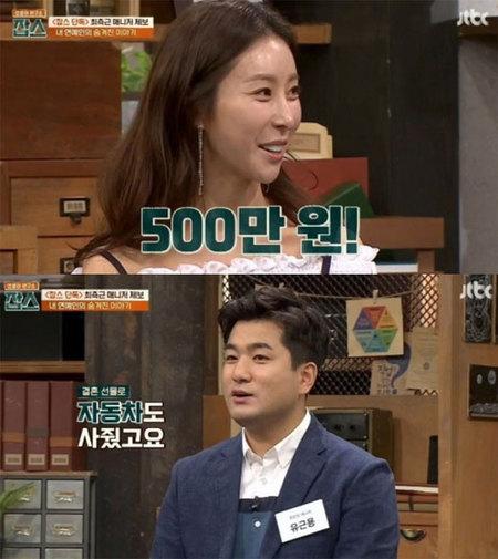 Kwikku, Manager Han Eun Jung telah setia menemani artisnya tersebut selama  tahun lamanya Bahkan Han Eun Jung pernah membelikan mobil BMW dan memberi uang sebesar Rp  juta saat managernya menikah