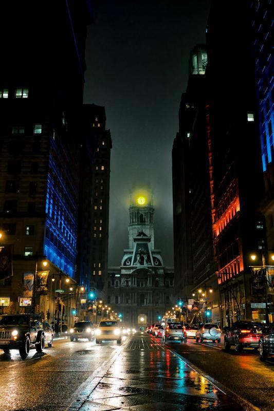 Kwikku, Philadelphia City hall ini merupakan gedung keren yang berada di Amerika Serikat Dari penampilannya sepertinya cocok jika jadi seting film fantasi ala Marvel ya