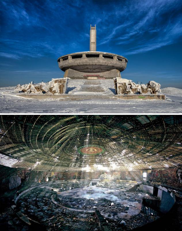 Kwikku, Bisa saja kita membayangkan ada alien atau makhluk aneh berada di bangunan Buzludzha Bulgaria