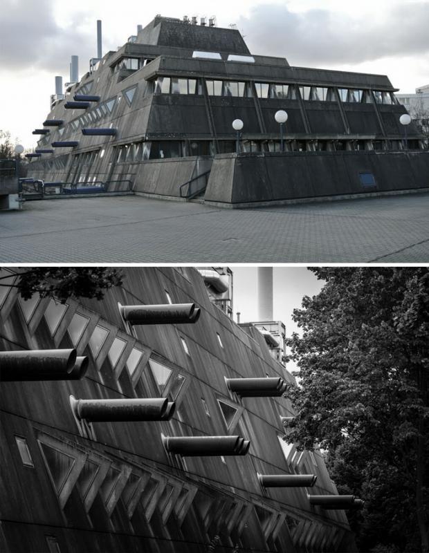 Kwikku, Bekas tempat penelitian obat di Berlin Jerman ini juga cocok jika jadi setting film fantasi