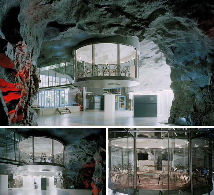 Kwikku, Dekorasi dalam gedung Bahnhof Office di Stockholm Swedia ini nggak kalah keren dari yang lainnya