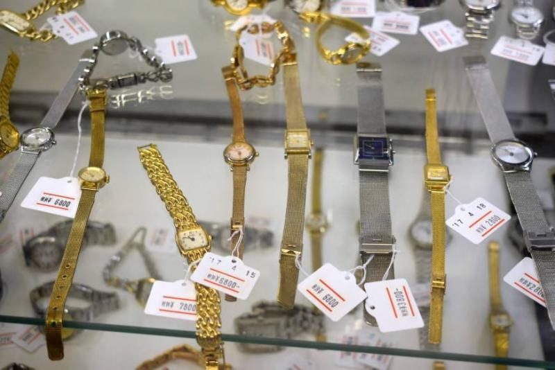 Kwikku, Barang yang masih memiliki nilai jual akan dijual ke pusat barang bekas di Jepang