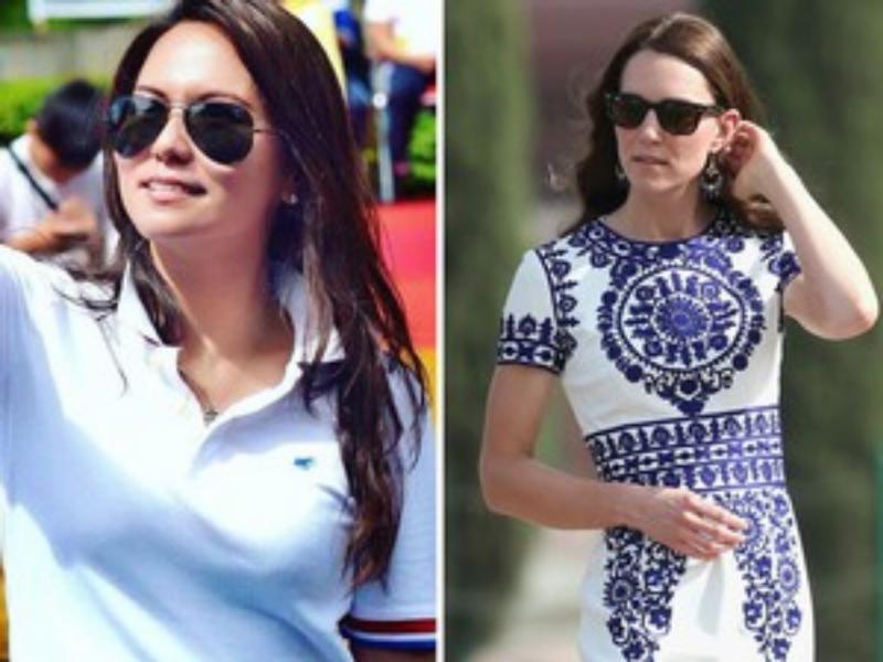 Kwikku, Banyak orang yang mengatakan bahwa Vivtoria Lengkong mirip dengan Kate Middleton Setuju ya Wanita yang berprofesi sebagai PNS ini juga mencuri perhatian netizen karena sosoknya yang cantik